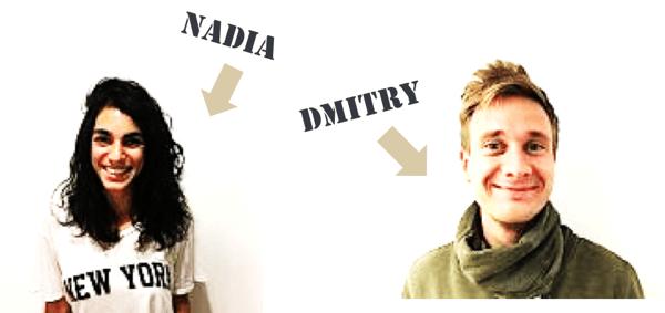 Nadia and Dmitry