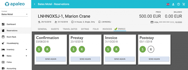 UI integration of a reservation tab, using your styling